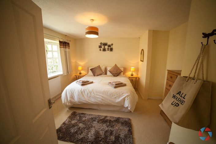 The Cottage Needingworth - bedroom 2 as a double