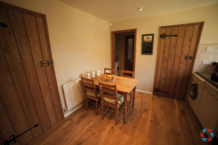The Cottage Needingworth - kitchen table